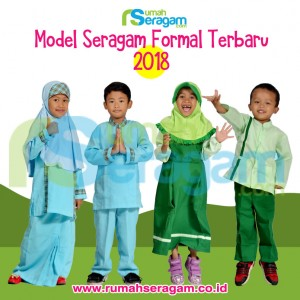 Model seragam formal terbaru 2018